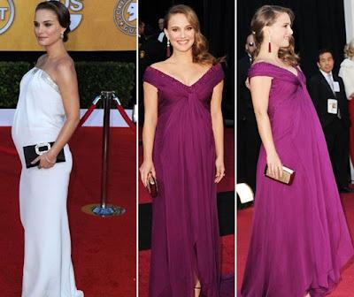 Natalie+Portman - Convidadas grávidas