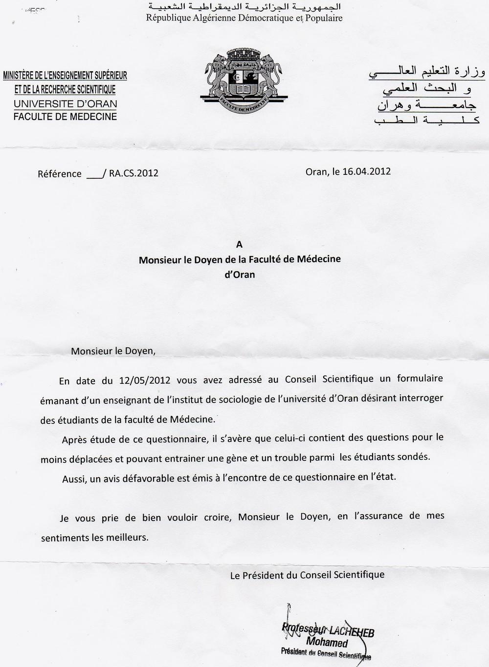 Exemple Lettre De Recours Pour Refus Dinscription à