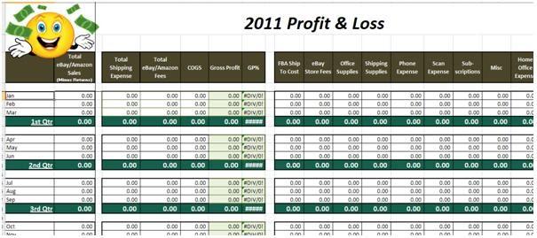 ebay selling coach  ebay and amazon sales tracking spreadsheet