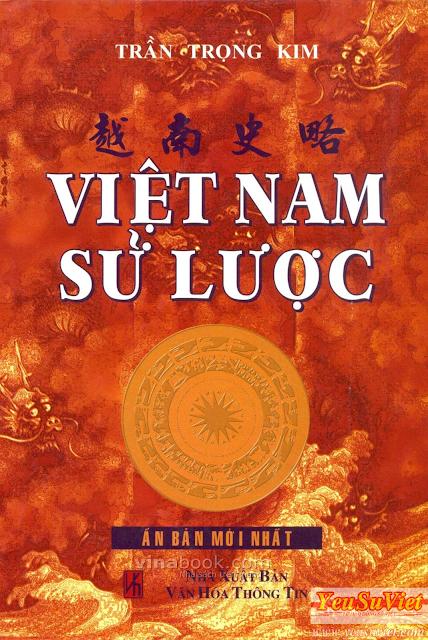 yêu sử việt, lịch sử việt nam, vietnamese history, việt nam sử lược pdf, trần trọng kim