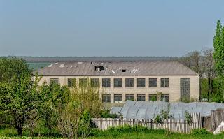 Алексеево-Дружковка. Закрытое здание школы № 14