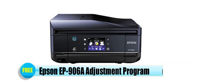 Epson EP-906A Adjustment Program