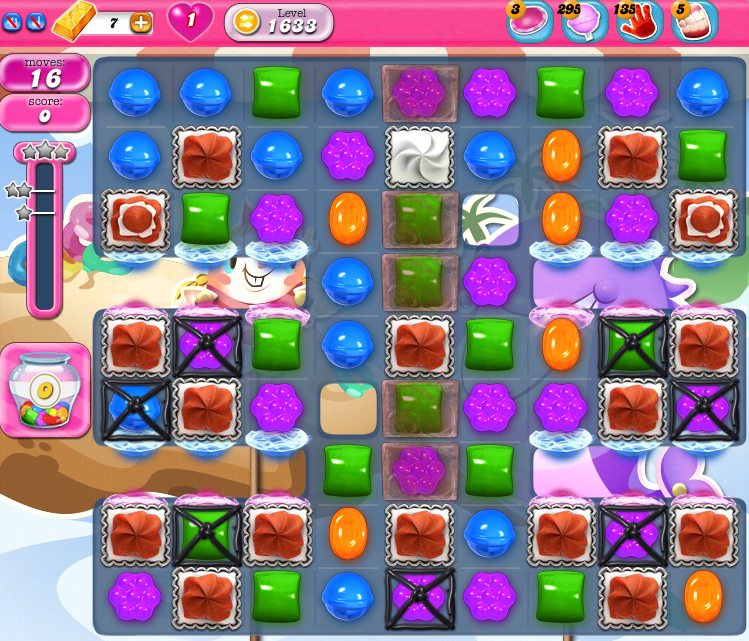 Candy Crush Saga 1633