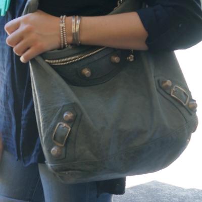 Balenciaga giant hardware Day bag in 2009 tempete | AwayFromTheBlue
