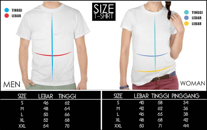 jas exclusive size chart t shirt