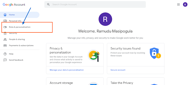 Delete Google Gmail account
