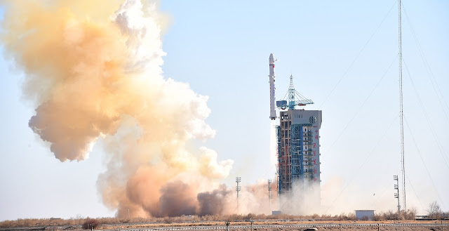 Long March 2D launches Yaogan Weixing 31 satellite from the Jiuquan Satellite Launch Center on December 3. Photo Credit: Xinhua/Zhen Zhe