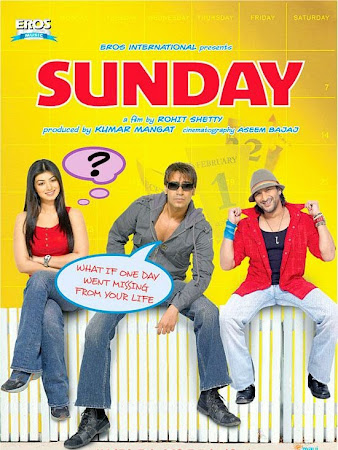 Watch Online Bollywood Movie Sunday 2008 300MB HDRip 480P Full Hindi Film Free Download At WorldFree4u.Com