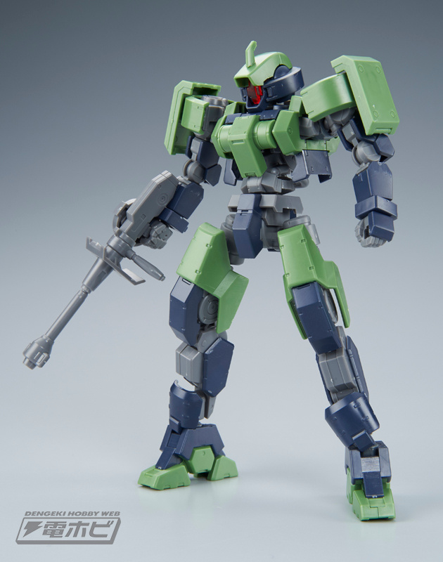 HG 1/144 Geirail Sample Images by Dengeki Hobby