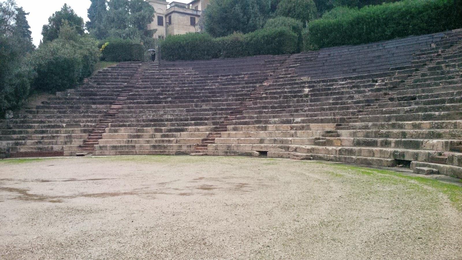 The Roman Theatre in Verona