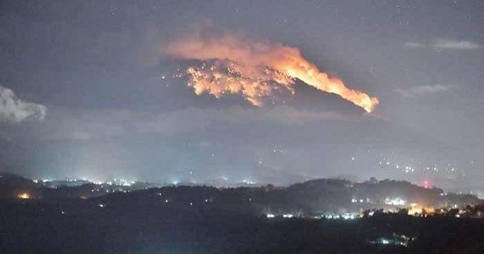 Gunung Agung Meletus: Bagi NASA, Itu Berita Bahagia bagi Kehidupan Umat Manusia