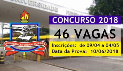 Concurso Universidade Federal do Pará 2018
