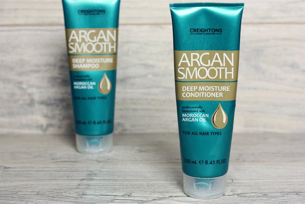 szampon-do-wlosow, odzywka-do-wlosow, pielegnacja-wlosow, creightons-argan-smooth