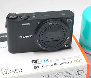 Jual Sony DSC - WX350 bekas