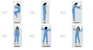 Posisi tidur yang baik dan yang buruk bagi kesehatan