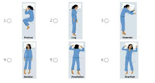 posisi tidur yang buruk