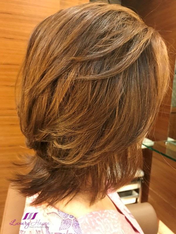 mosche grand hyatt hair cut deals short bob