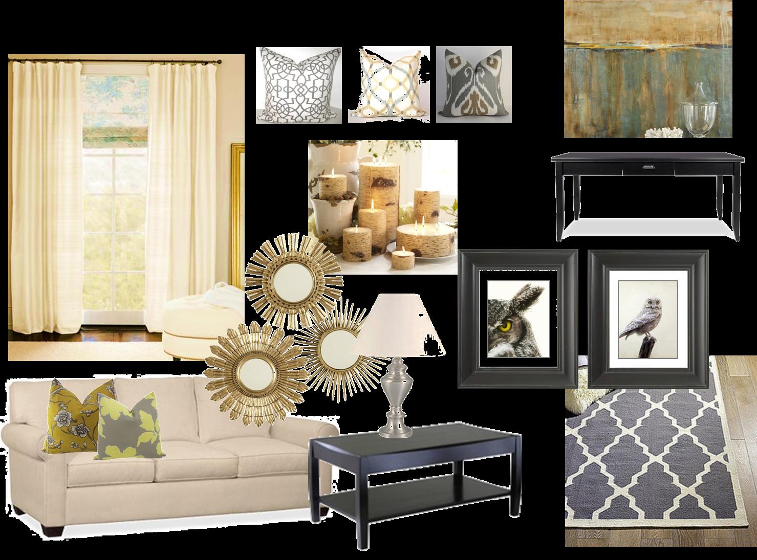 Cup Half Full: Home Decor - Living Room Inspiration