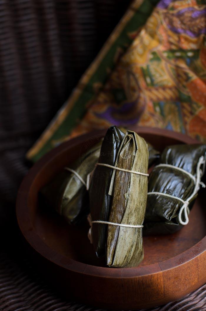 Pulut Dakap | Sticky Rice Banana Parcel