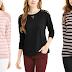 *Hot* Walmart: $2 (Reg. $12.96) Como Blu Women's French Terry Sweatshirt with Lace Detail!