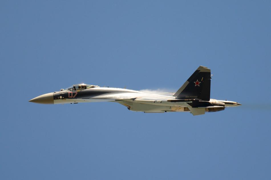 Russian Su 35 Flanker E Fighter Jet Ready To Wow Maks 2013
