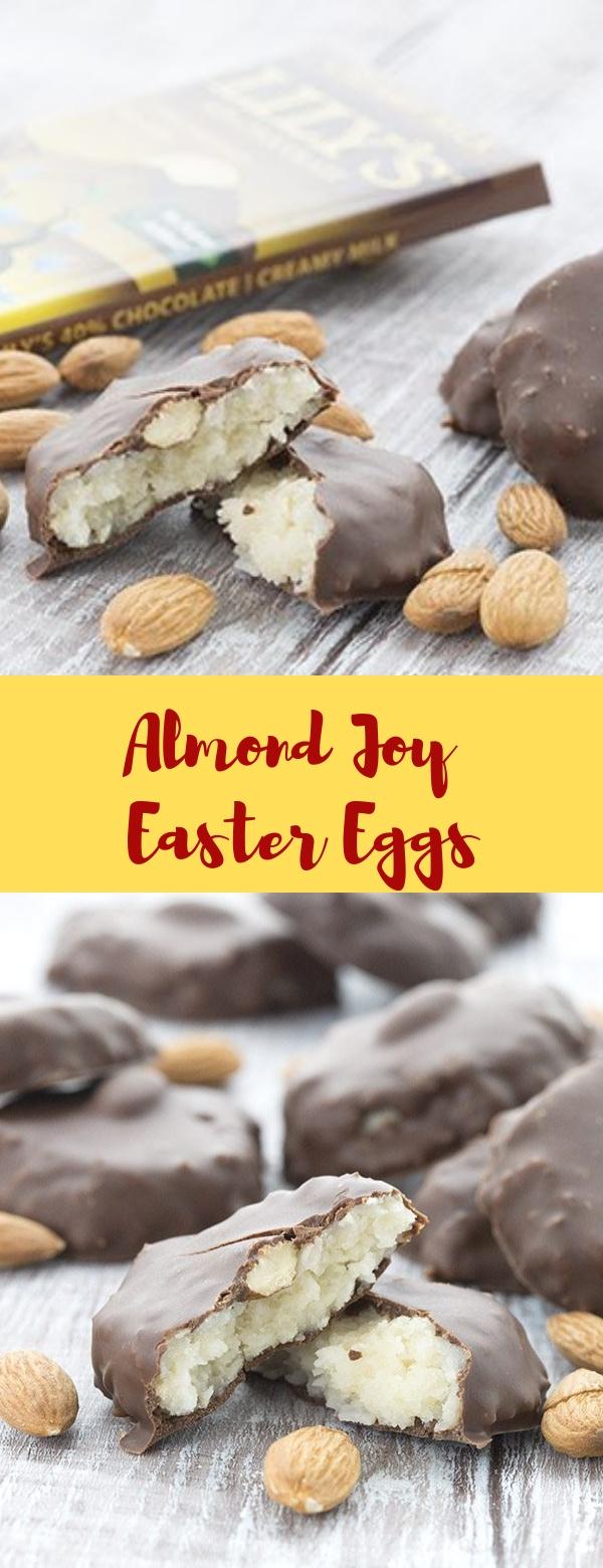 Almond Joy Easter Eggs #SUGARFREE #HEALTHY #KETO