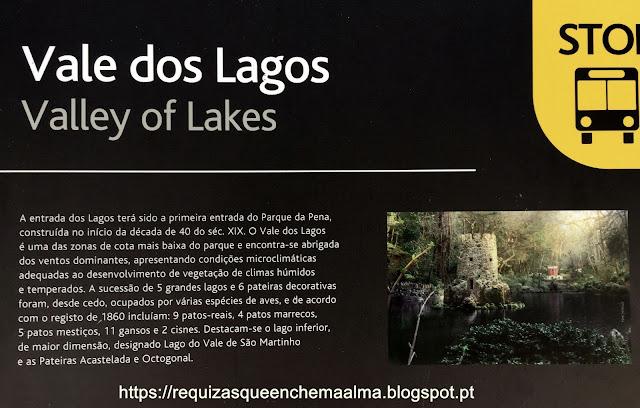 Vale dos Lagos, Parque do Palácio da Pena, Sintra