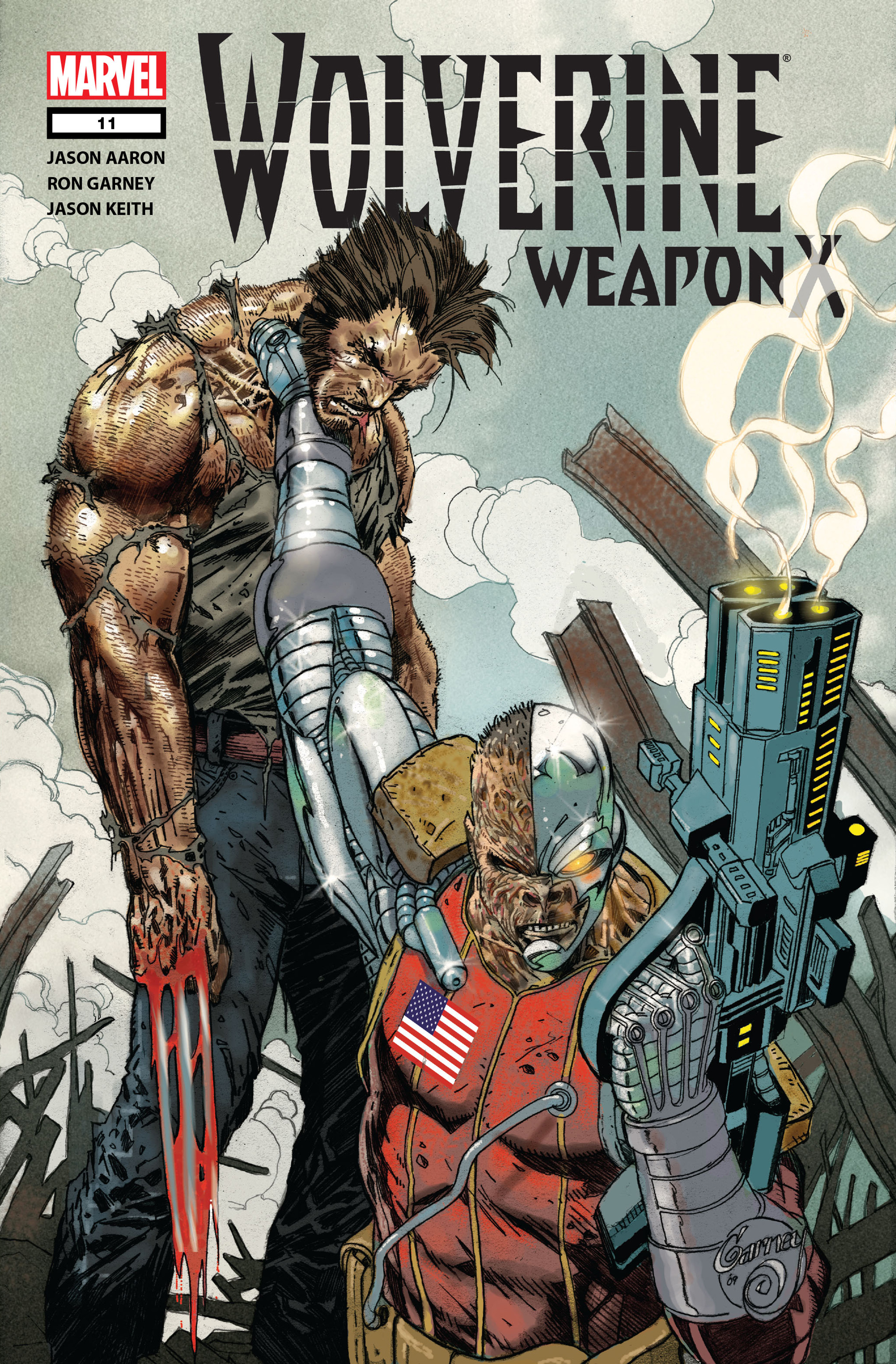Read online Wolverine: Weapon X comic -  Issue #11 - 1