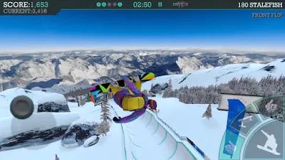 selamat siang sob jumpa lagi bersama aku admin apkfreemod-1 Snowboard Party: Aspen v1.2.3 APK+Data MOD [Money] Update Terbaru 2018