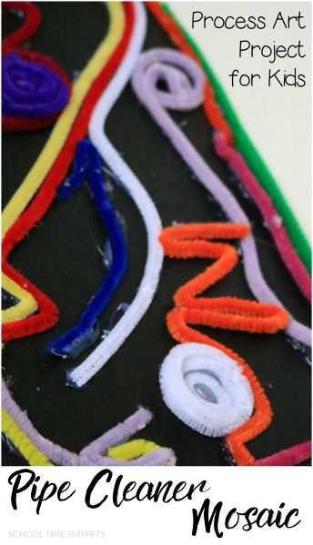 pipe cleaner process art for kids