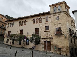 Jaén, Palacio de los Quesada Ulloa.