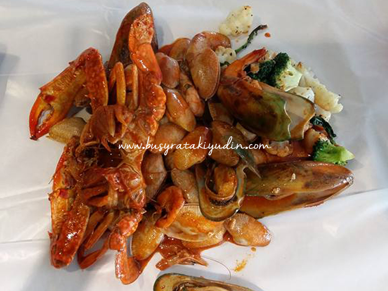 SHELL OUT MURAH DAN SEDAP DI DECO CAFE, AMAN CENTRAL ALOR SETAR
