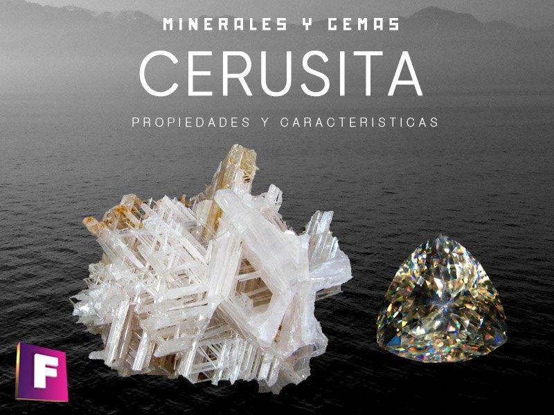 La cerusita es un mineral relacionado con los carbonatos con alto contenido en plomo, sus cristales son transparentes