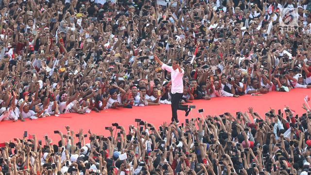 Jokowi di GBK
