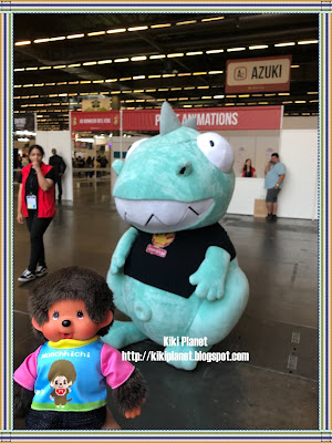 monchhichi kiki japan expo 2018 cosplayer mascotte