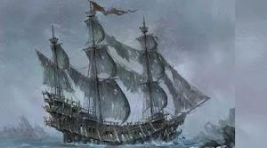 Kisah Legenda Kapal Hantu Flying Dutchman