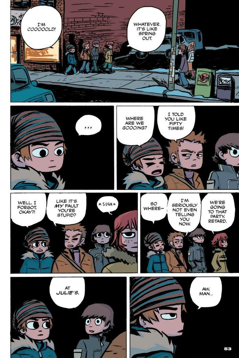 Read online Scott Pilgrim comic -  Issue #1 - 47