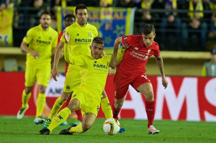 Europa League Match: Villarreal 1 - Liverpool 0 (Full Time)