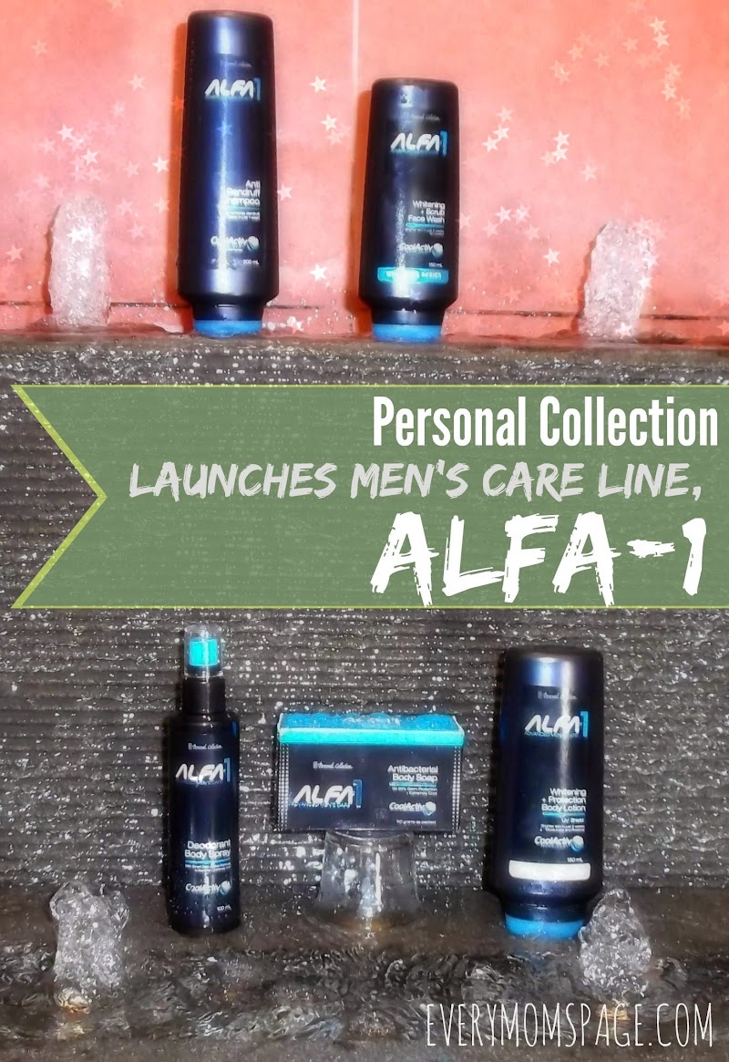Personal Collection Launches Men's Care Line, ALFA-1