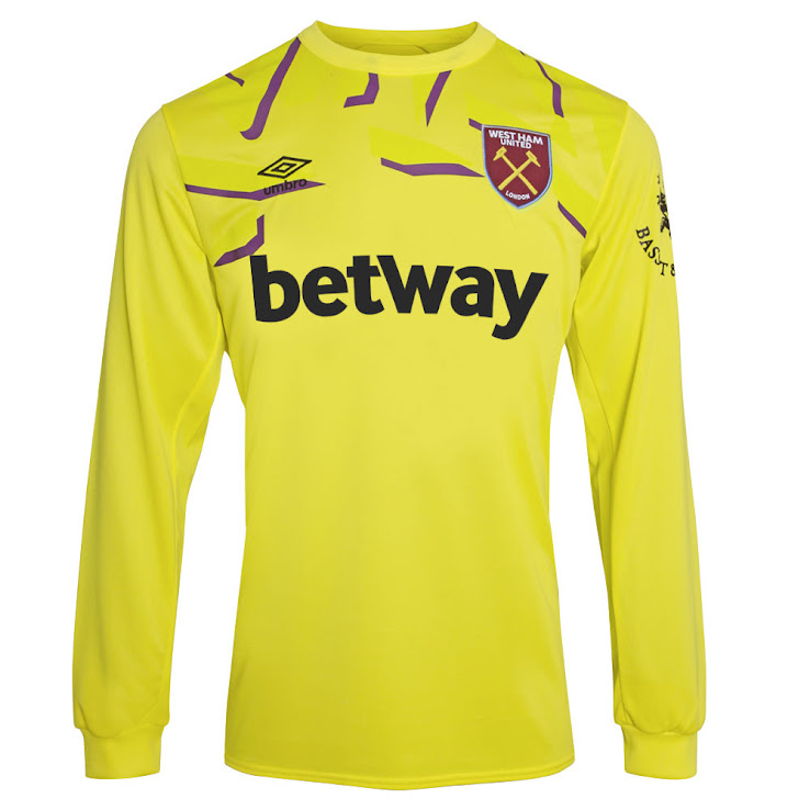 1226a4de1b5 Keeper. Fans can pre-order the official 2019-20 Umbro West Ham home and  away kits from today. It will go on sale in stores on Thursday 13 June.