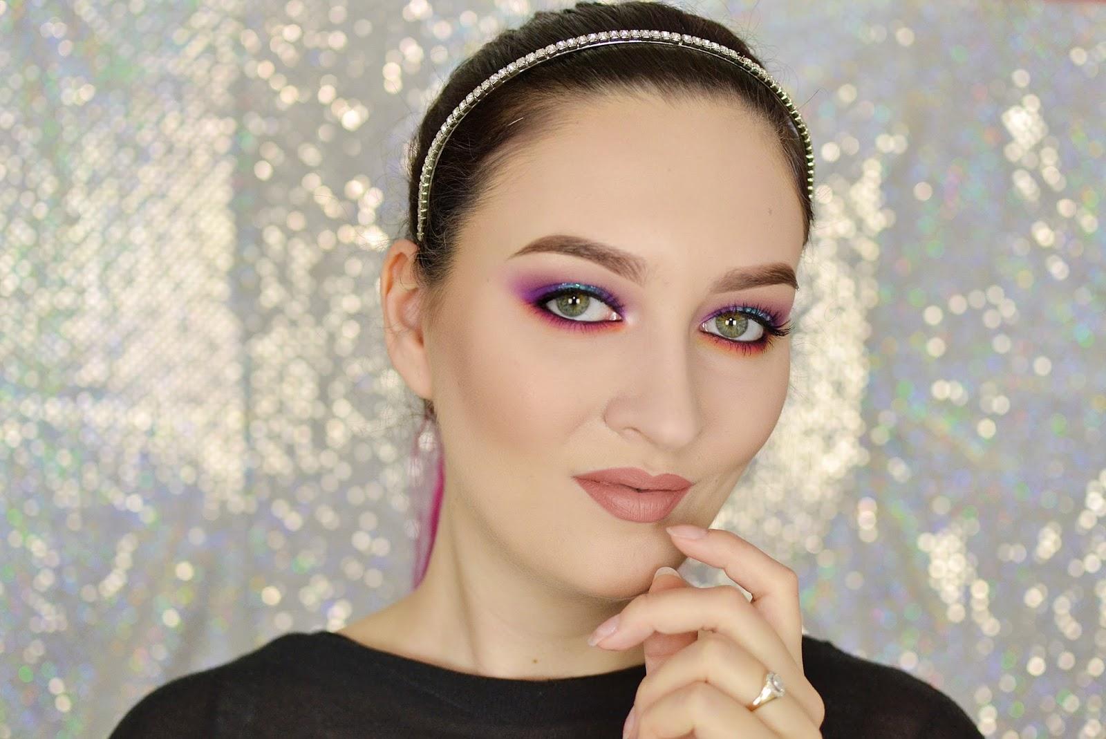 makijaż wiosenny neonail electric effect 3