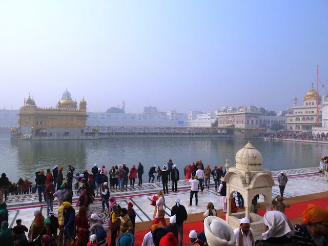 First sight of The Golden Temple
