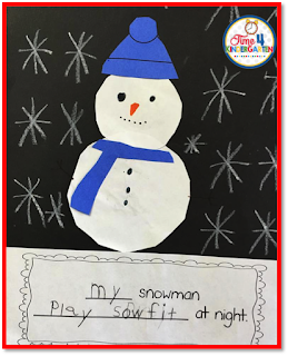 Snowmen at Night, Time 4 Kindergarten