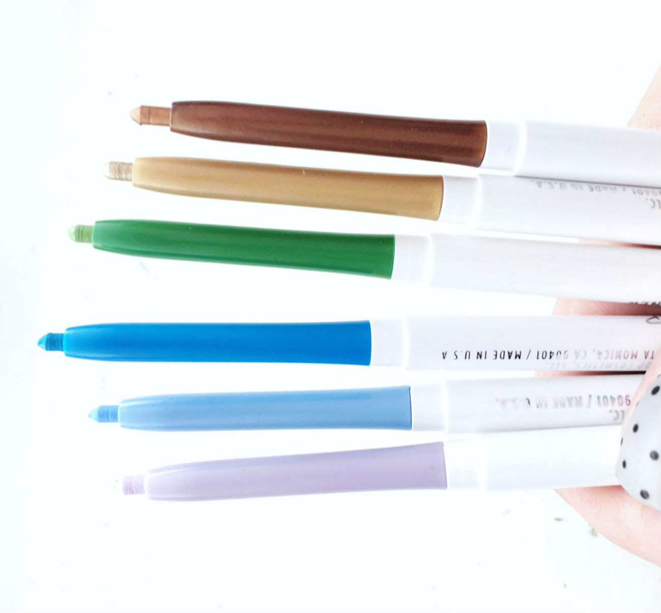 Review of Colourpop Creme Gel Liners, colours, swatches
