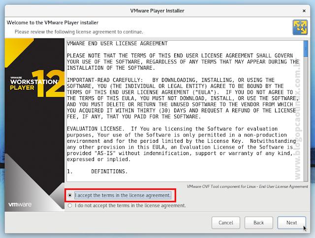 Contrato de Licença do VMware OVF Tool