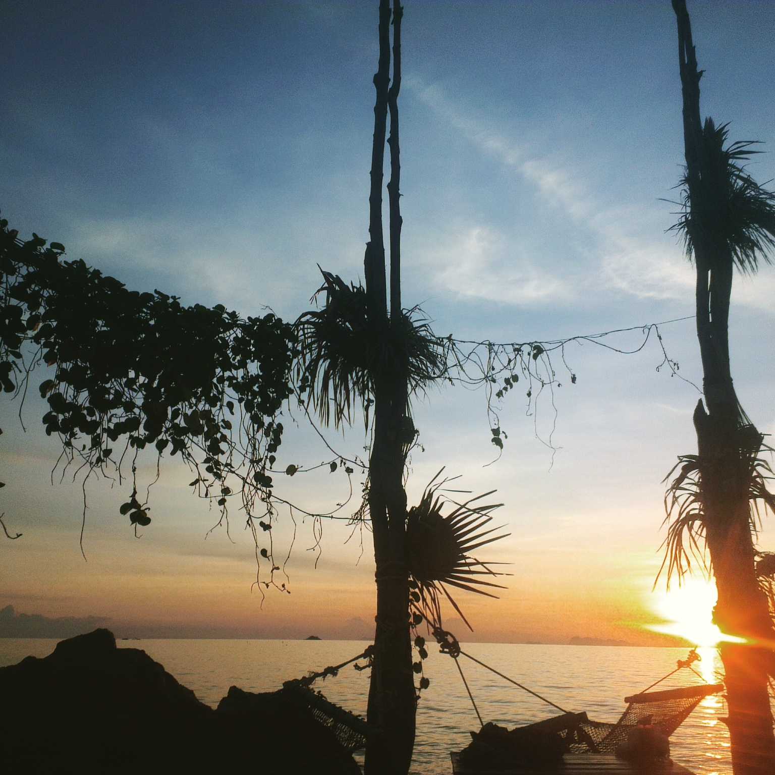 Best Sunset Spot - Koh Raham - Haad Son Resort - Koh Phangan