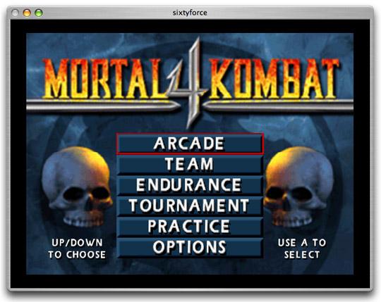 Mortal kombat 4 v1. 0 скачать игру.