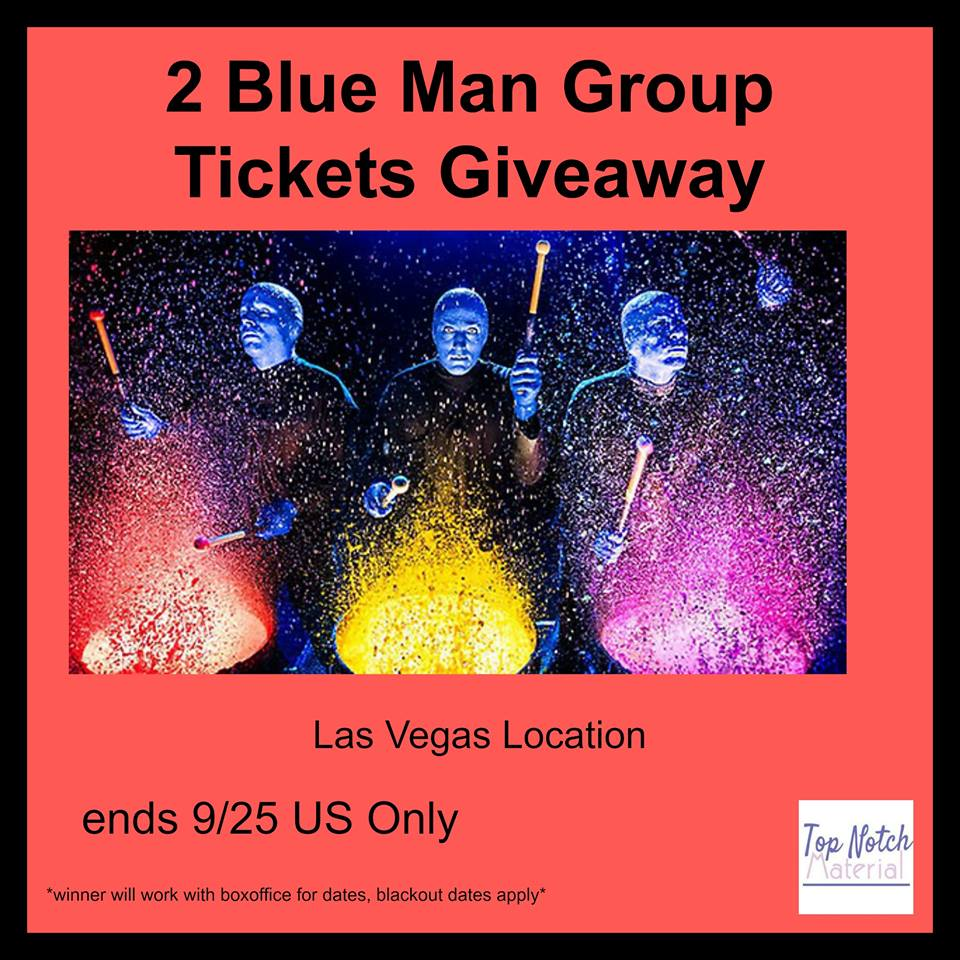 Java john z 39 s blue man group las vegas tickets giveaway - Blue man group box office ...