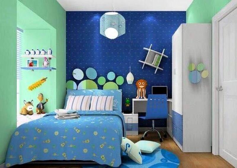 Desain Kamar Tidur Anak Laki Laki