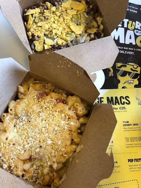 return of the mac mac and cheese cardiff delivery